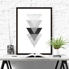 Geometric Art #iloveprintable #poster