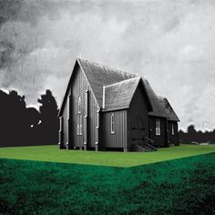 SchoolOfNight_608x608 #cover #album #house #green