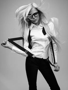 Merde! - Fashion photography #glasses #woman #girl #photography #fashion