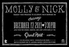 Typography Love / Invite