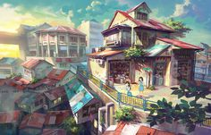 Shop by FeiGiap on deviantART #shop #scene #colour
