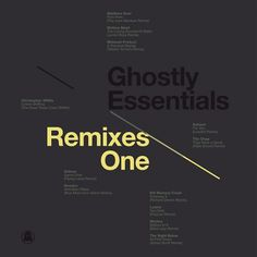 Ghostly International - Michael Cina #music #packaging