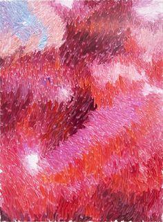 Peter Zimmermann – tune, 2015, 150 x 110 cm, Öl auf Leinwand