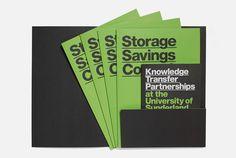 University of Sunderland Software City MARK #print #brochure #folder #underline
