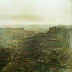 the end at Shafer | Flickr - Photo Sharing! #vintage #landscape