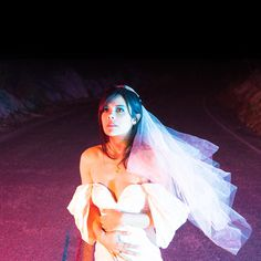 photography, neil krug, bat for lashes, bride, neon