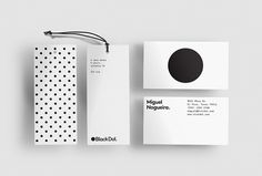 Black Dot. by A&A #graphic design #labels #print #circle