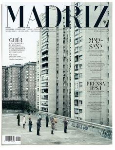 FFFFOUND! | MADRIZ #ornate #madrid #cover #type #magazine