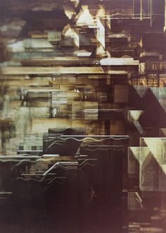 DESTINY on Behance #photography #glitch #collage