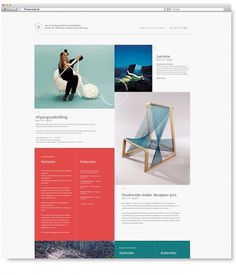 The Royal Danish Academy of Fine Arts - ADC on the Behance Network #website