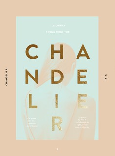 AT THE MOMENT: SWING FROM THE CHANDELIER