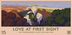 #Pembrokeshire #Coast #National #Park #Film #Season #Poster #Campaign