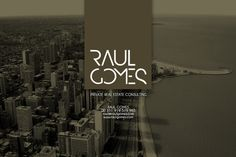 RAUL GOMES #logotype #branding #stationary #design #graphic #corporate #brand #identity #stationery #logo