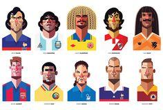 Daniel Nyari's Play Maker Illustrations Football News