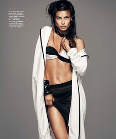 Adriana Lima by Nico #fashion #photography #inspiration