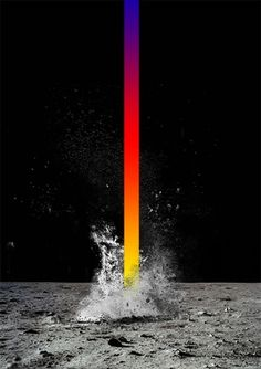 Tumblr #dynamic #color #bold #space #simple #expression #gradient #burst