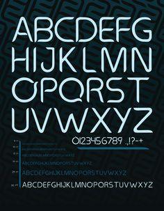 Sevengill Typeface - Zach Johnson Design