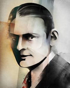 The New Republic - T.S. Eliot by Alexey Kurbatov #republic #alexey #t #kurbatov #the #s #eliot #illustration #magazine #new