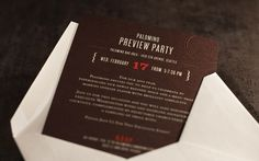 Graphic-ExchanGE - a selection of graphic projects #invite #identity #stationary #restaurant