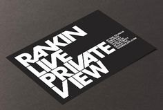 Rankin Live on the Behance Network #them #invite #white #themdesign #print #rankin #black #photography #and #www