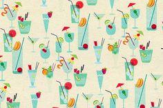 design work life » cataloging inspiration daily #illustration #vector #pattern #drinks