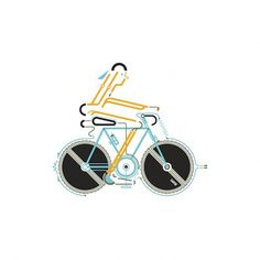 Leandro Castelao / Bike #illustration #design #graphic #bike