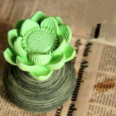 Aromatic Diffuser Ceramic Flowers Zen Buddhism Lotus #flower #zen