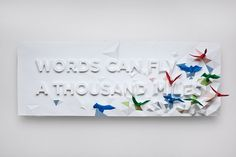 Google Reader (1000+) #paper #art #typography