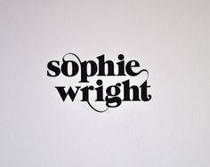 logo, type, lettering