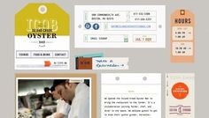 Island Creek Oyster Bar - Web design inspiration from siteInspire
