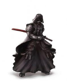 samurai vader by ~cheo36 on deviantART