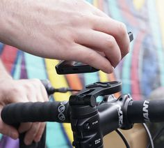 Magnetic iPhone Bike Mount by Proper #tech #flow #gadget #gift #ideas #cool