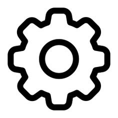 See more icon inspiration related to gear, cogwheel, construction and tools, edit tools, cogwheels, gears, mechanism, settings and configuration on Flaticon.