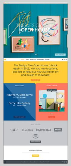 The Design Files Open House #website #layout #design #web