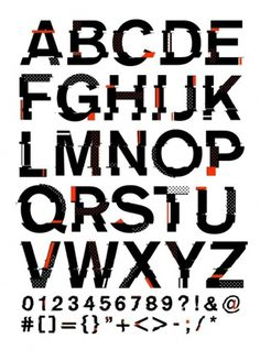 13_chopped-copy.jpg (500×694) #typography #type #glitch #cut #halftone #distressed