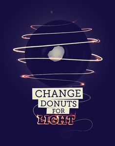 CHANGE DONUTS FOR on the Behance Network