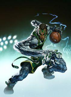 Alvin Lee ESPN RISE Covers FEarturing Michael Gilchrist, Nick Zee Cannon Vena Daniel Norris Colored by Fabian Monk Schlaga 4 #lee #espn #alvin #rise