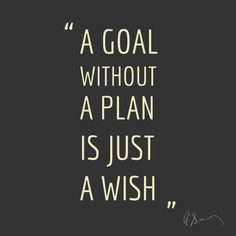 Goal or Wish? #inspiration #quotes #typography