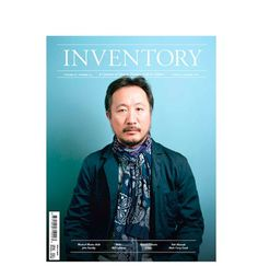 Inventory Stockroom — INVENTORY Volume 02 Number 04Daiki Suzuki Cover #inventory #magazine #typography