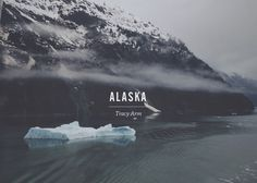 Tracy Arm #nick #design #sickelton #gothic #photography #alternate #chaparral #pro #typography
