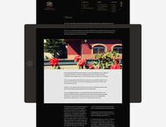 #webdesign winery