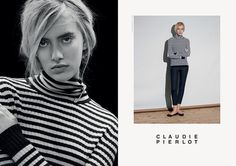 CLAUDIE PIERLOT CAMPAIGN Leslie David #direction #leslie #david #art