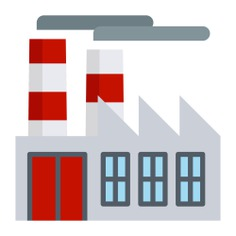 See more icon inspiration related to factory, industry, pollution, industrial, contamination, buildings and landscape on Flaticon.