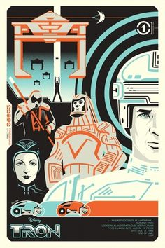 Mondo: The Blog #screen #print #poster #tron