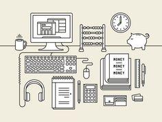 creative mornings Tim Boelaars #creative #vector #tim #mornings #illustration #boelaars