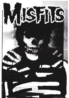 "Poltergeist Î"" #rock #punk #misfits #poster"