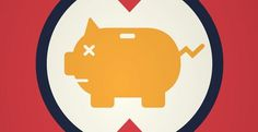 Caliber Creative #save #pig #bank #banking #money
