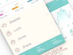 Medical App UI Design - Pictograms by http://ramotion.com