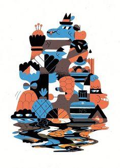 Hedof - People - Agency - YCN #illustration