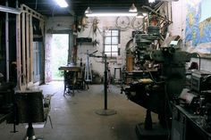 JohnnyCoast Shop 1.jpg #bikes #workshop #bicycle